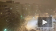 В Петербурге бушует пурга (видео)