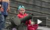 В День флага петербуржцам дали наиграться бронетехникой