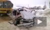 Появилось видео смертельного ДТП с автобусом с 22 детьми и легковушкой из Башкирии