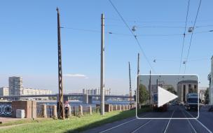 Вековые трамвайные опоры на Обуховской Обороны готовятся заменить на новые