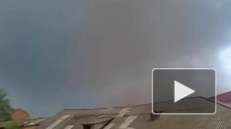 Ураган в Тульской области: разрушен город, есть пострадавшие