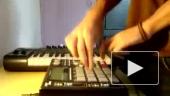 Развлечение на миди клавиатуре
