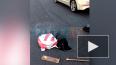 Видео: на Милионной улице обвалился новенький асфальт