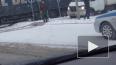 Произошло ДТП в Петербурге с большегрузами и газелью