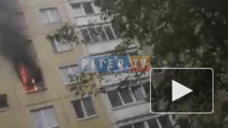 В Выборгском районе в жилом доме сгорела кухня