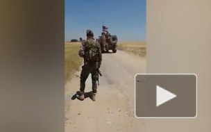 Российские военные снова заблокировали американский патруль в Сирии