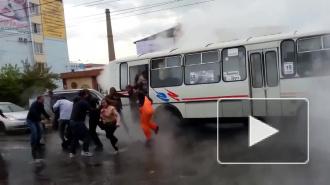 В Красноярске пассажиры автобуса чуть не сварились заживо