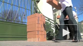 Георгиевские ленточки привезли в Петербург