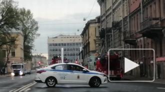 В квартире на Лермонтовском произошел пожар и прорвало трубу с горячей водой