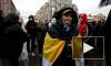 В Петербурге националисты вышли на митинг в защиту своего соратника Калиниченко