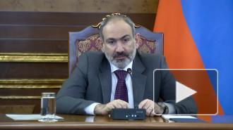 Пашинян заявил о прекращении боев в Карабахе после прибытия миротворцев РФ
