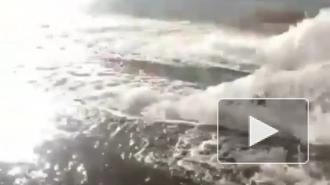 На Алтае из-под земли вырвались фонтаны грунтовых вод