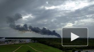 Стали известны подробности мощного взрыва ракеты Falcon 9