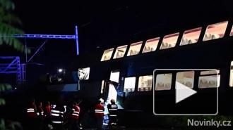 В Чехии столкнулись пассажирский и грузовой поезда