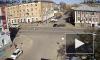 Парень на мопеде врезался в иномарку в Петрозаводске