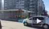 Видео: на Светлановском демонтируют ларек с кебабом
