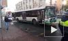 После столкновения автобуса и маршрутки на Индустриальном госпитализировали трех подростков