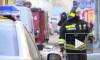 В Муринском пруду сгорел ресторанный понтон