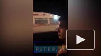 Автомобилист въехал в толпу на Невском
