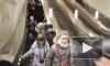 На станции метро «Адмиралтейская» эскалатор сломался сразу после открытия
