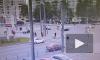 Видео: как произошло ДТП на пересечении Светлановского и Просвещения