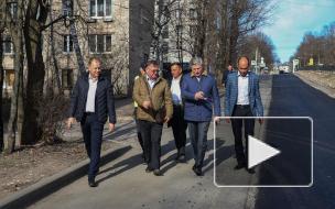 Ильдар Гилязов в Instagram показал ремонт дорог в Выборге