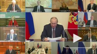 Путин оценил ситуацию с паводками и природными пожарами в регионах