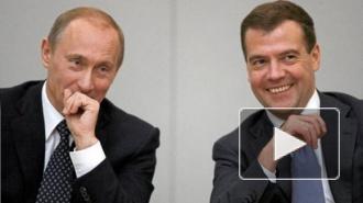 Человек-дерево превратился из Медведева в Путина