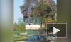 В Парголово на Тихоокеанской загорелся частный дом