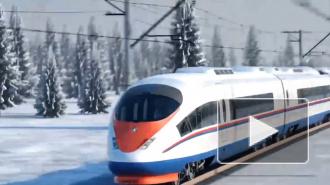 В РЖД назвали сроки запуска ВСМ между Москвой и Петербургом