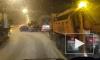 Ночью на КАД произошла массовая авария с снегоуборочной техникой, фурой и легковушками
