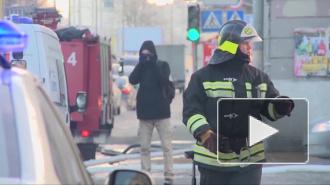 В Москве горела автостоянка, дотла сожжены 12 дорогих иномарок, ущерб 150 миллионов рублей