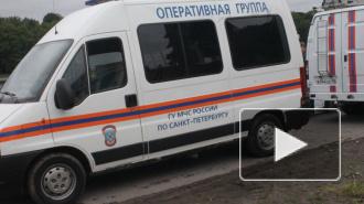 На Дибуновской улице столкнулись три легковых, грузовой автомобиль и скутер
