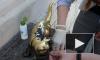 Активисты отмыли скульптуру котенка Фунтика